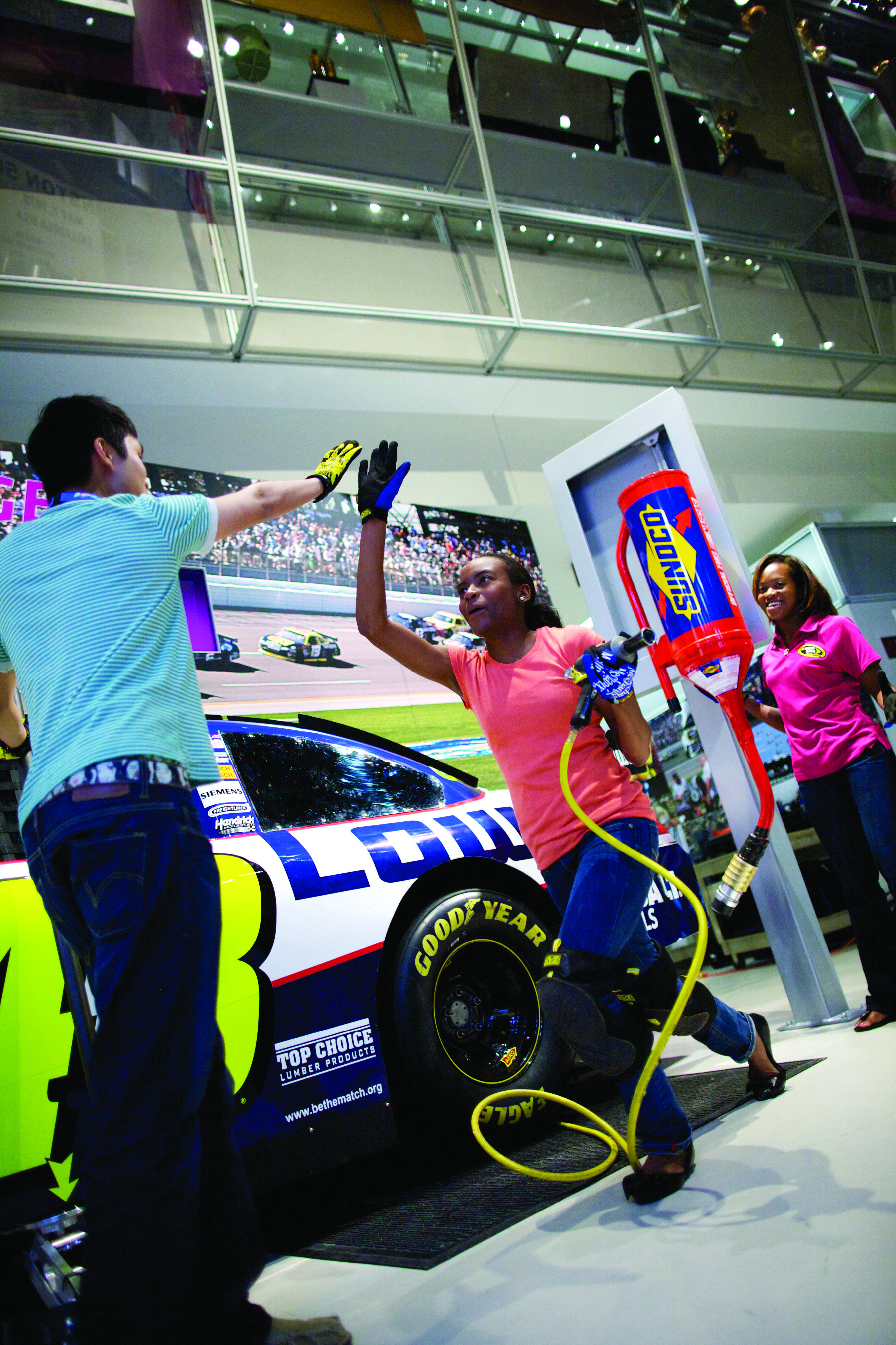 pedal to the metal fun at the nascar hall of fame the hall is rh pinterest com