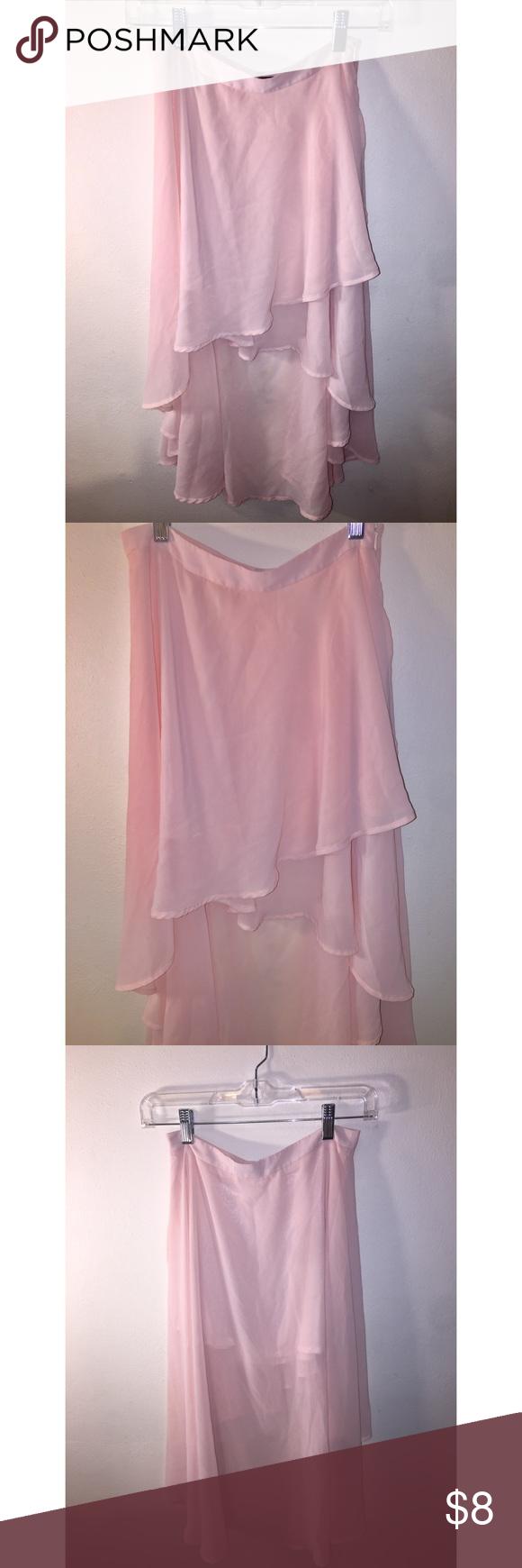 Forever 21 - Light pink high-low skirt Adorable skirt! Soft pink color. & Forever 21 - Light pink high-low skirt Adorable skirt! Soft pink ... azcodes.com