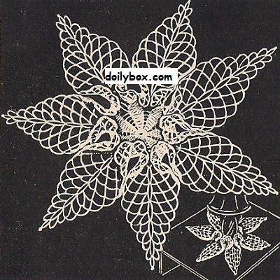 Free Crochet Patterns Starfish Doily Pattern | Wzory | Pinterest ...