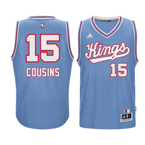 ... 15 Sacramento Kings Jersey Mens Sacramento Kings DeMarcus Cousins  adidas Light Blue Current Player Hardwood Classics Swingman Performance  Jersey ... ccef359d1