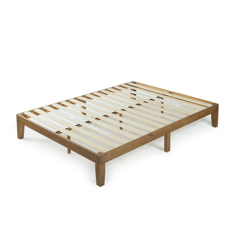 Ella Platform Bed Wood Platform Bed Solid Wood Platform Bed Platform Bed