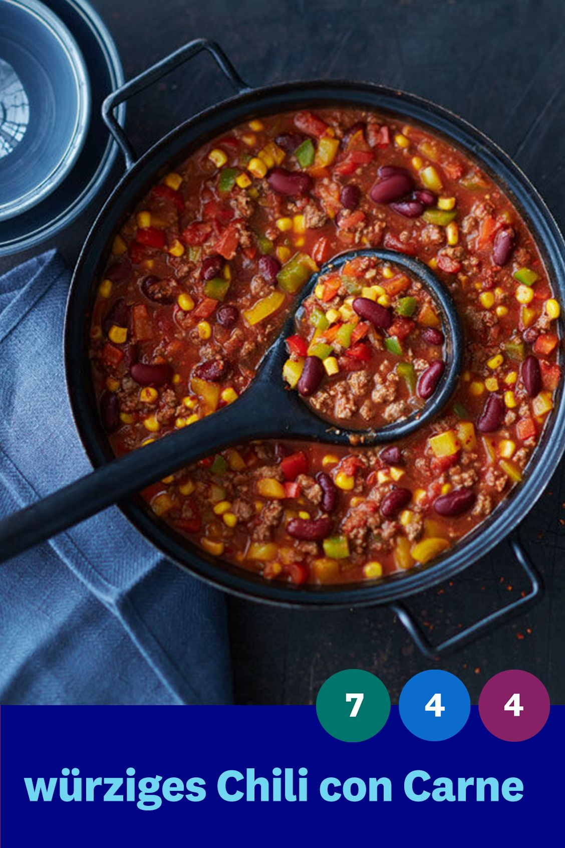 würziges Chili con Carne