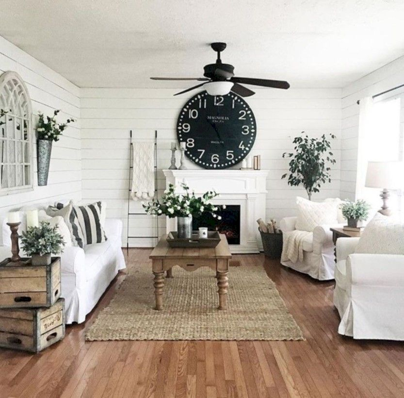 46 Amazing Small Living Rooms Ideas With Farmhouse Style  Small Prepossessing Farmhouse Living Room Design Ideas Design Inspiration