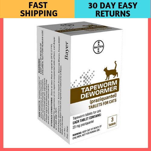 Tapeworm Dewormer Bayer Cats Dogs Tablets Weeks Older 6 5 Care Expert 3 Kittens Cat Medicine Kitten Care Cat Health
