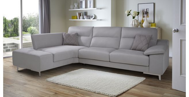 guest left hand facing 3 seater corner sofa bed momentum dfs rh pinterest de