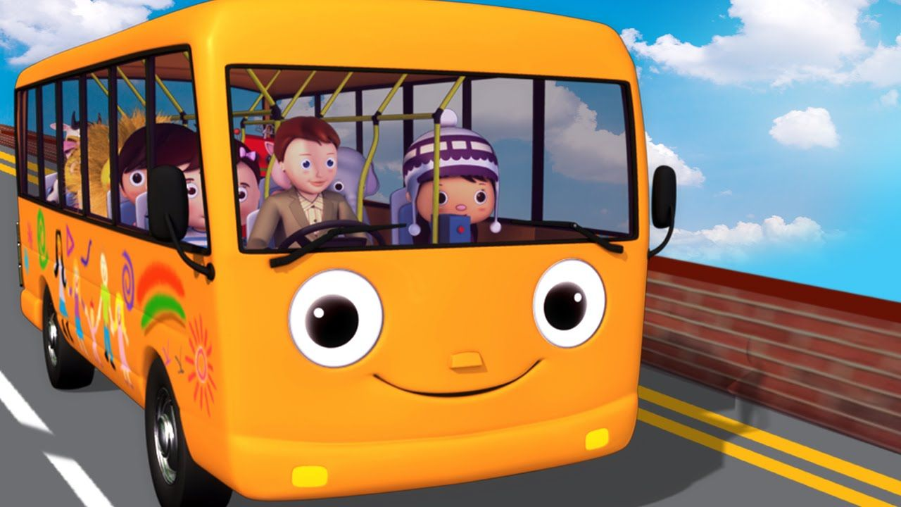 Wheels On The Bus Part 5 Nursery Rhymes Hd Version From