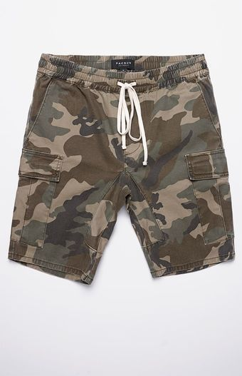 637a661306 Pacsun, Camouflage, Swim Trunks, Drop, Skinny, Pocket, Shorts, Outfits