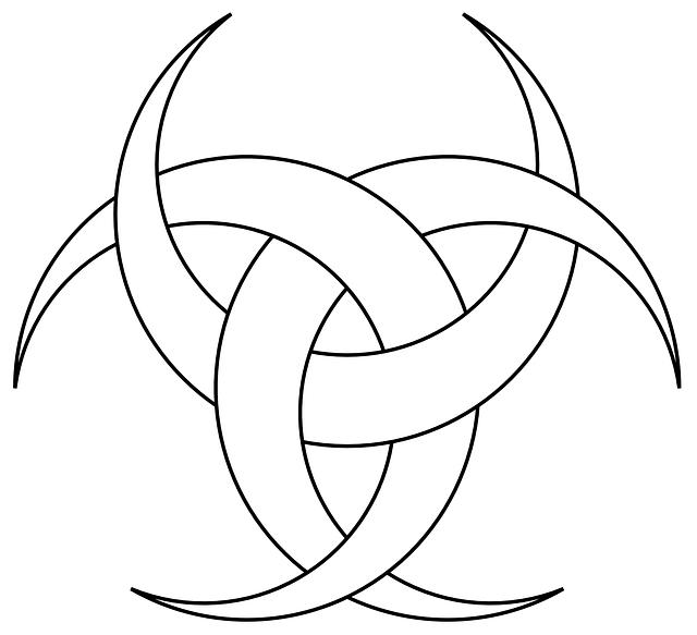 Three Outline Symbol Moon Crescent Tattoo Public Domain Wiccan Symbols Goddess Symbols Symbols