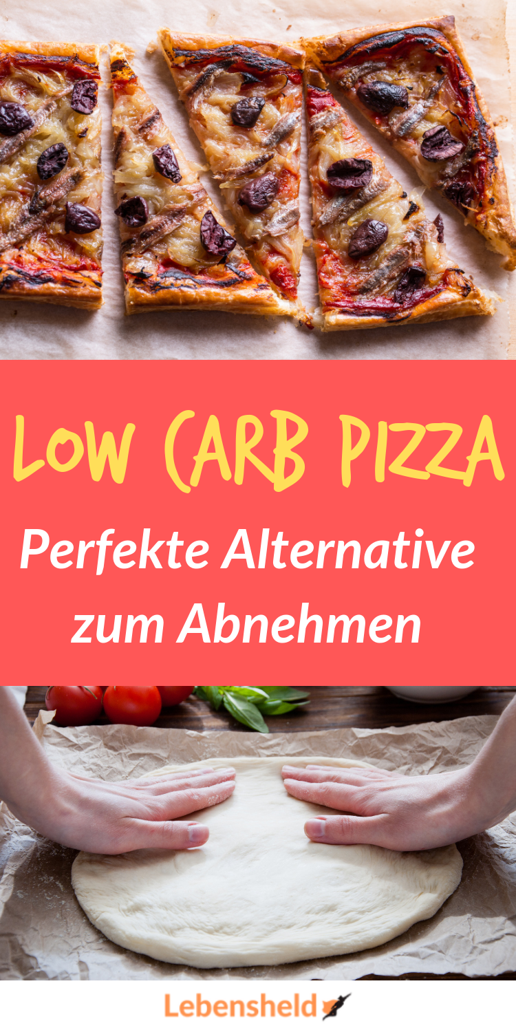 Low carb Pizza mit Thunfisch - Undedingt ausprobieren! - Low Carb Held