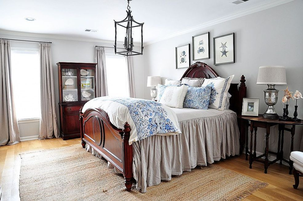 Create a bright u0026 serene bedroom to