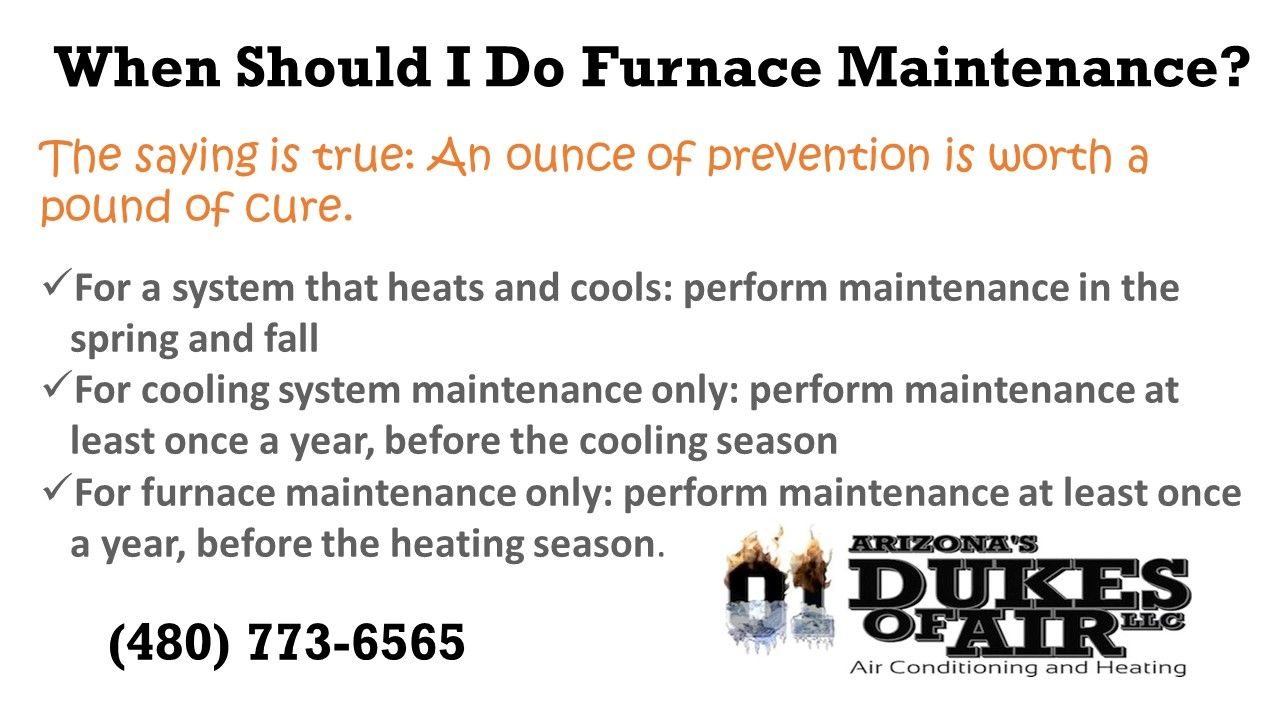 SAVE BIG, Schedule your Heating Maintenance at a reduced