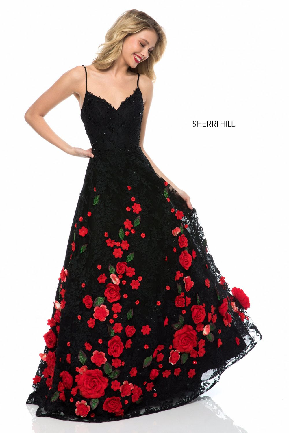 Check out the latest Sherri Hill 51993 dresses at prom dress stores  authorized by the International