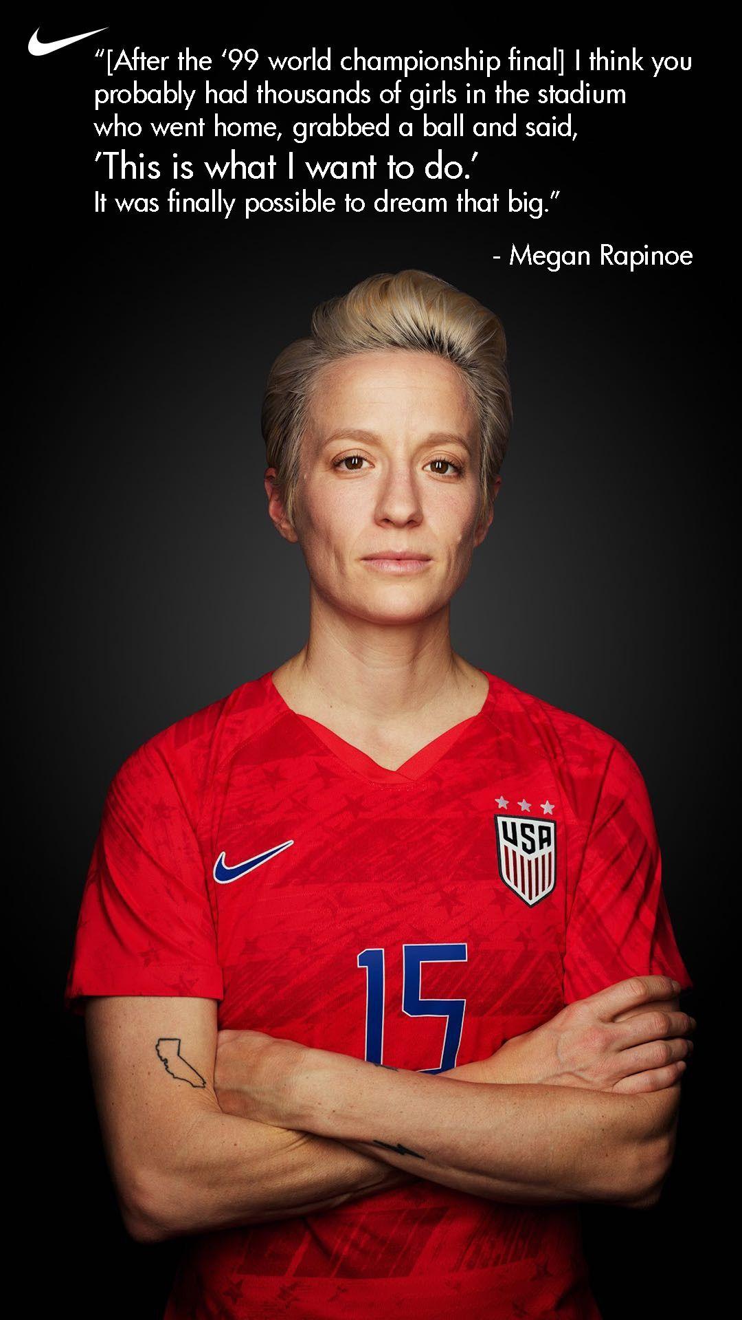 Permission To Dream Big Usa Soccer Women Usa Soccer Team Women S Soccer Team