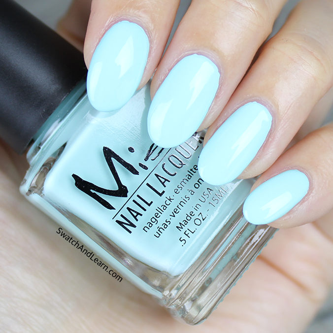Misa Mint to Be Swatch Pastel Me All About It Collection Swatches ...