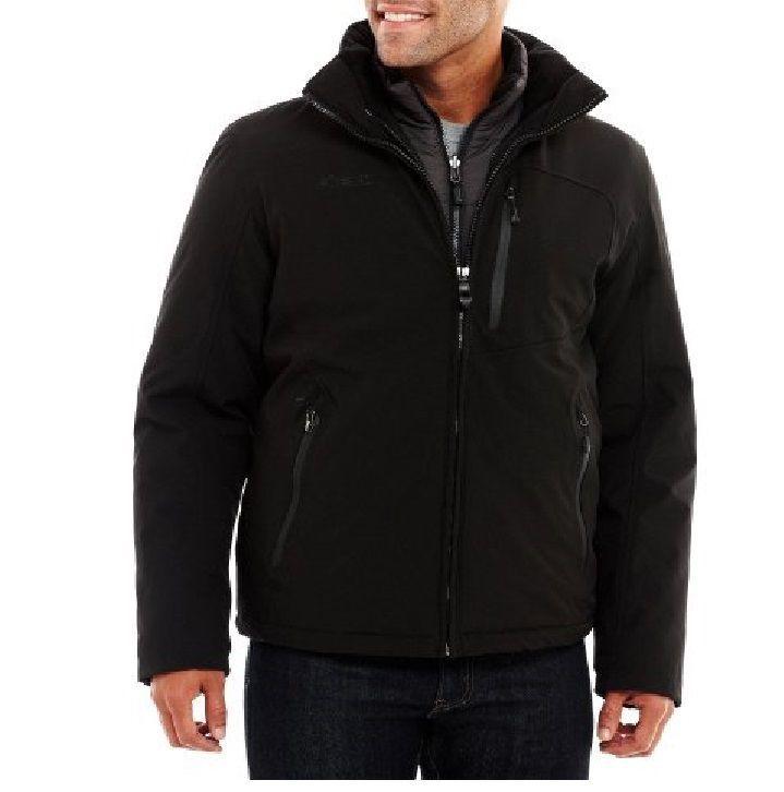 Zero Xposur Mens Jacket Coat 4way Stretch Layered System