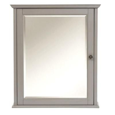 Home Depot Medicine Cabinet With Mirror Simple Home Decorators Collection Hamilton 27 Inh Mirrored Cabinet In 2018