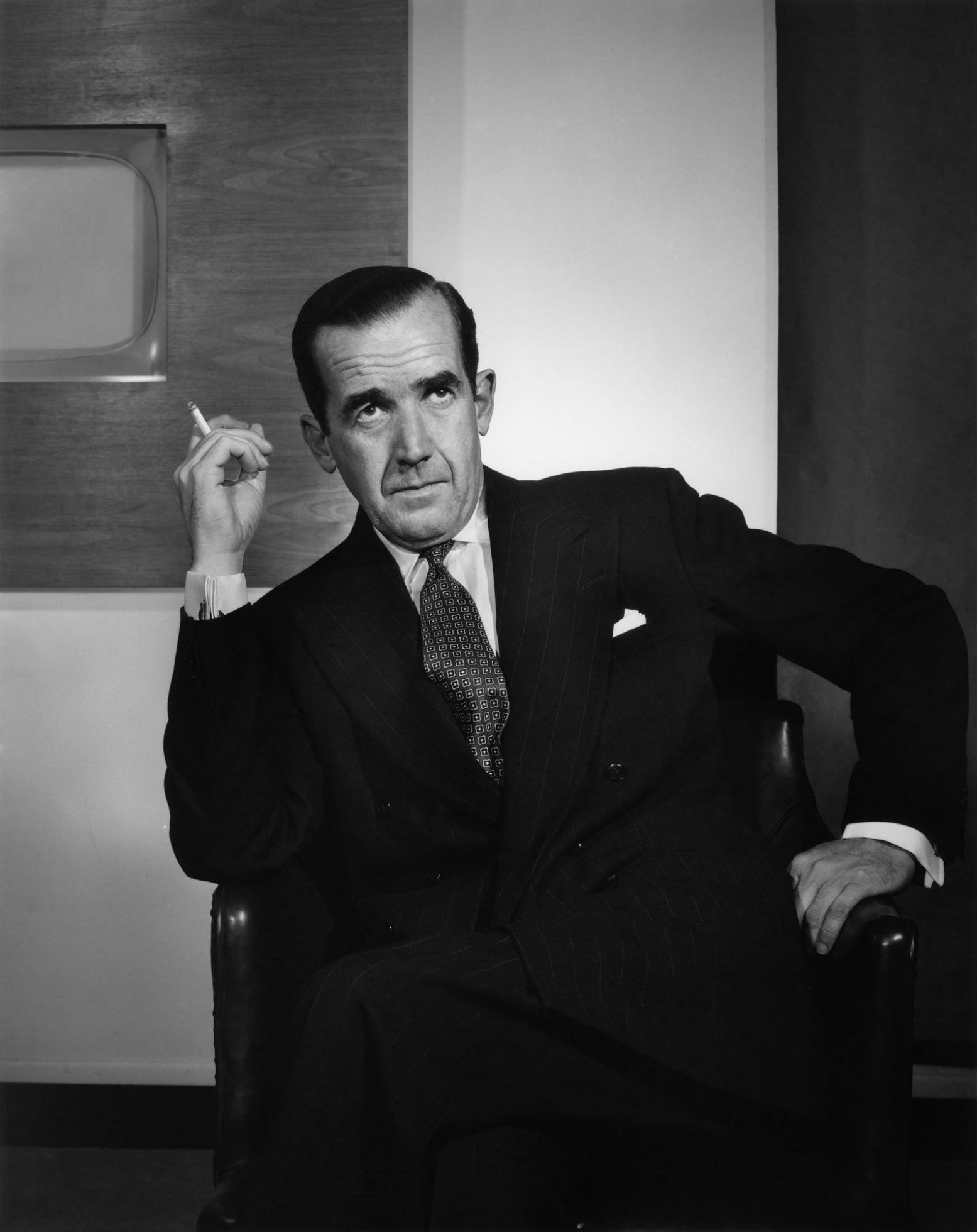 Edward R. Murrow 1959 Yousuf Karsh (With images
