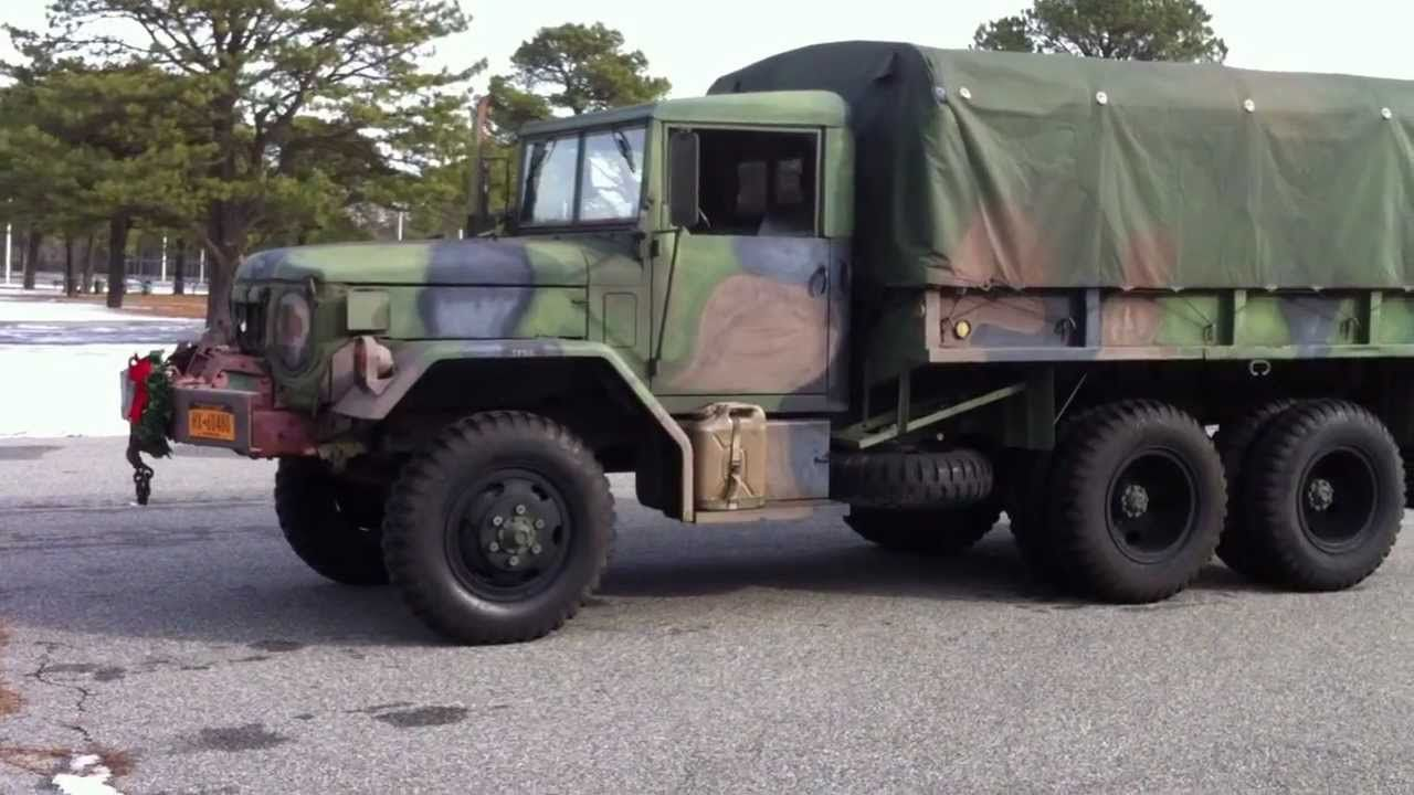 Sold m35a2 2 5 ton kaiser jeep deuce and a half military cargo