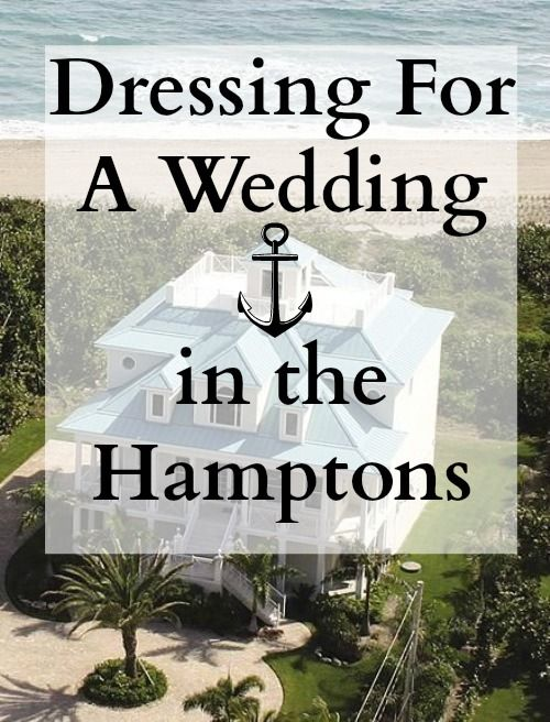 Rent The Runway for a Wedding at the Hamptons
