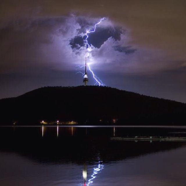 Telstra Tower strike Canberra | Beautiful Australia ...