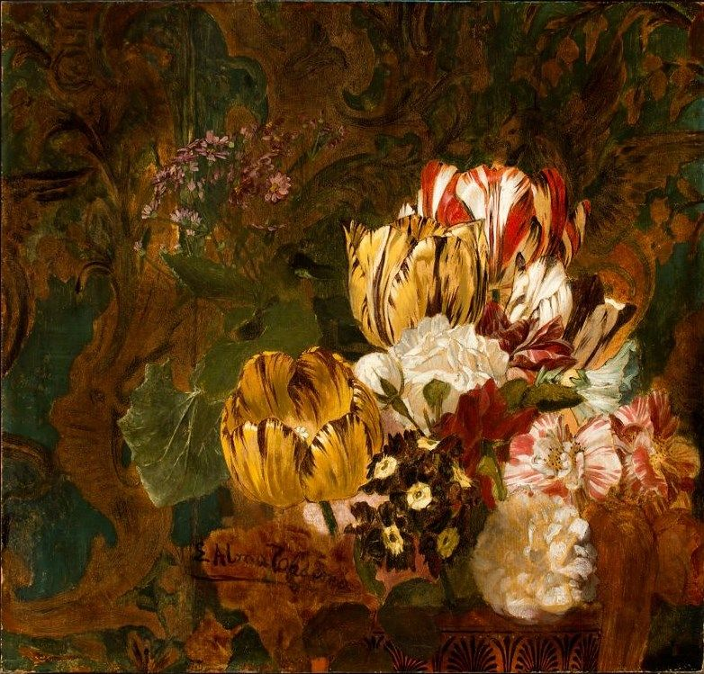 My Artistic Guilty Pleasure - Alma-Tadema Still Life -- ArtistDaily