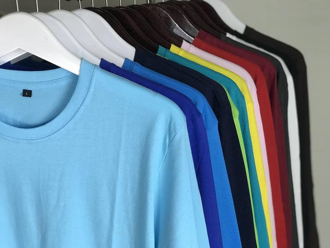 Kaos Polos Lengan Panjang Tersedia 15 Warna Kaos Lengan Panjang Lengan
