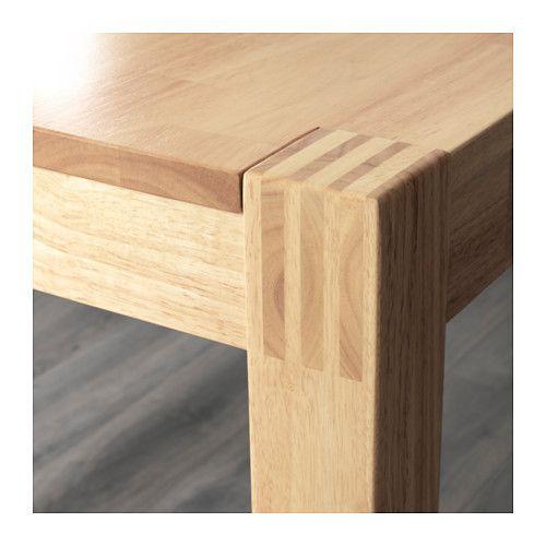 nordby tisch gummibaum b n pinterest holzbank tisch und holzbank ohne lehne. Black Bedroom Furniture Sets. Home Design Ideas