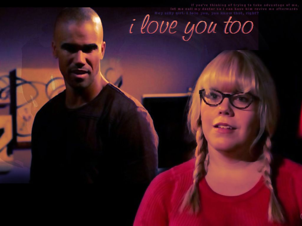 are garcia and morgan dating on criminal minds