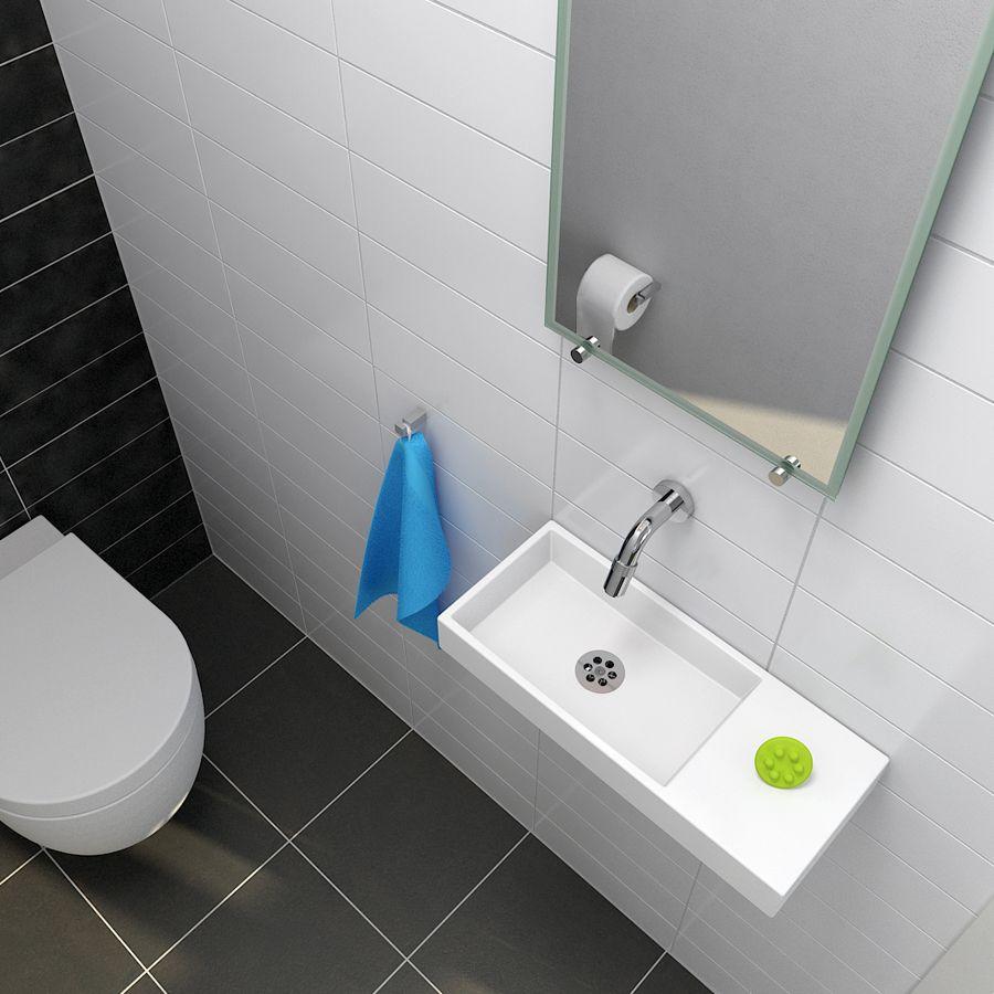 Clou - Mini Wash Me fontein met silicone waterstop. De fontein is ...