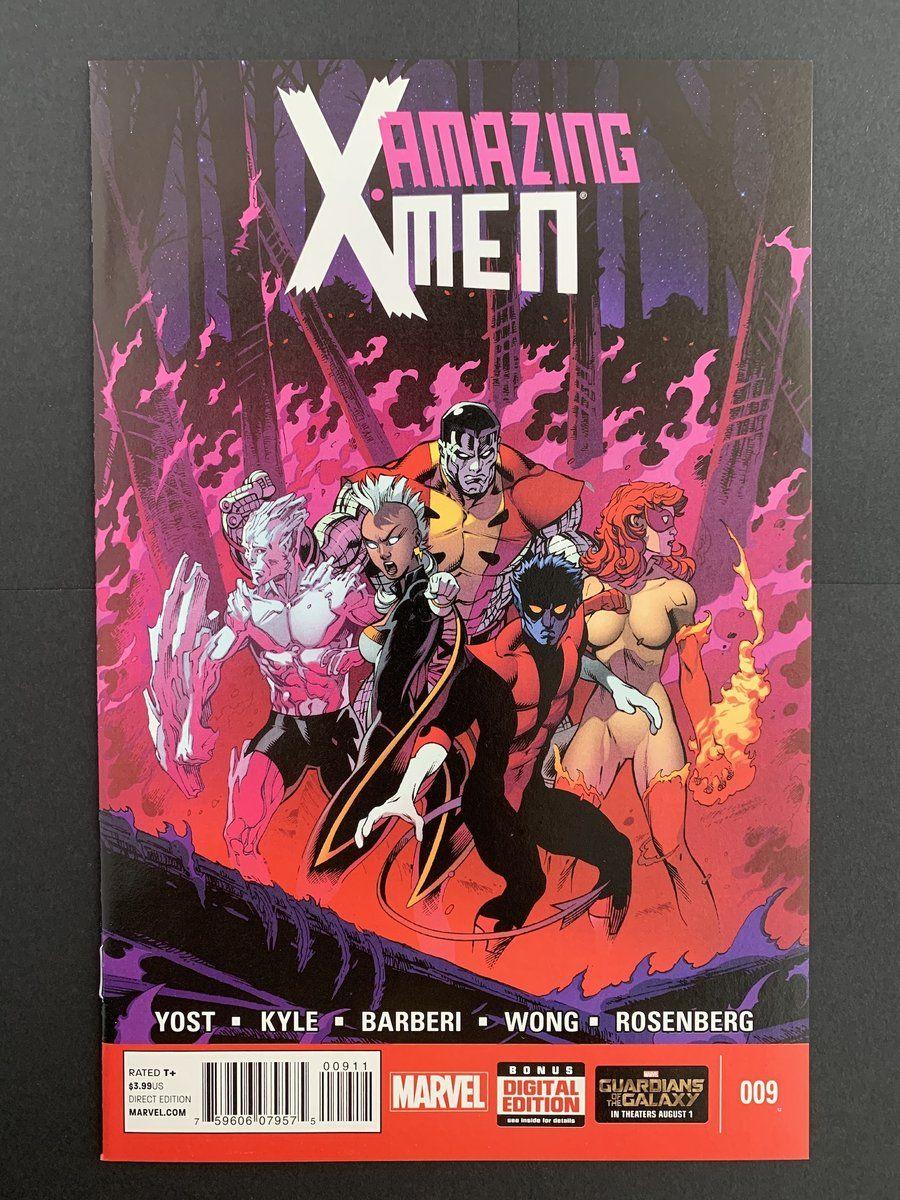 Amazing xmen 2014 9 nm marvel comics covers comic