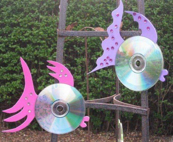 24 Brilliants Recycled CD Bastelideen für Zuhause -  #bastelideen #brilliants #für #recycled ... #recycledcd