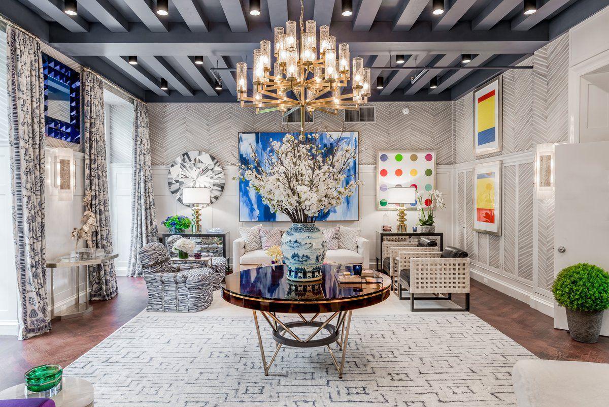 Each year celebrated interior designers transform a