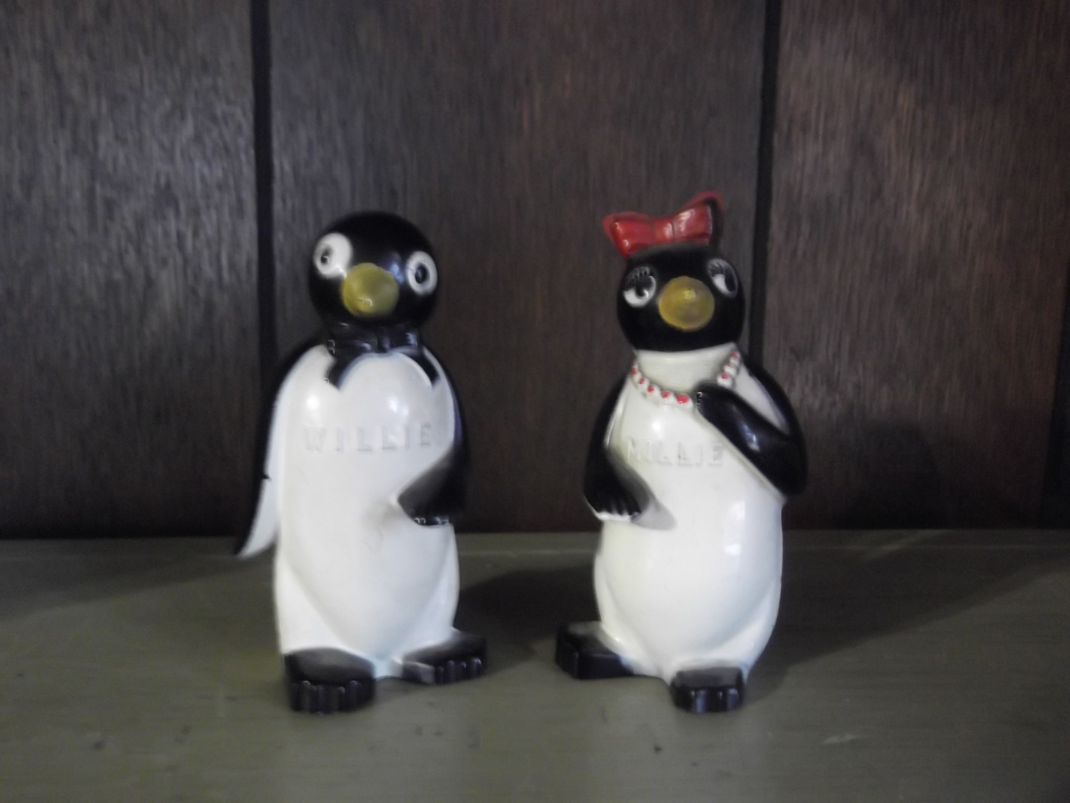 Willy & Milly Shakers - these were my mom's.