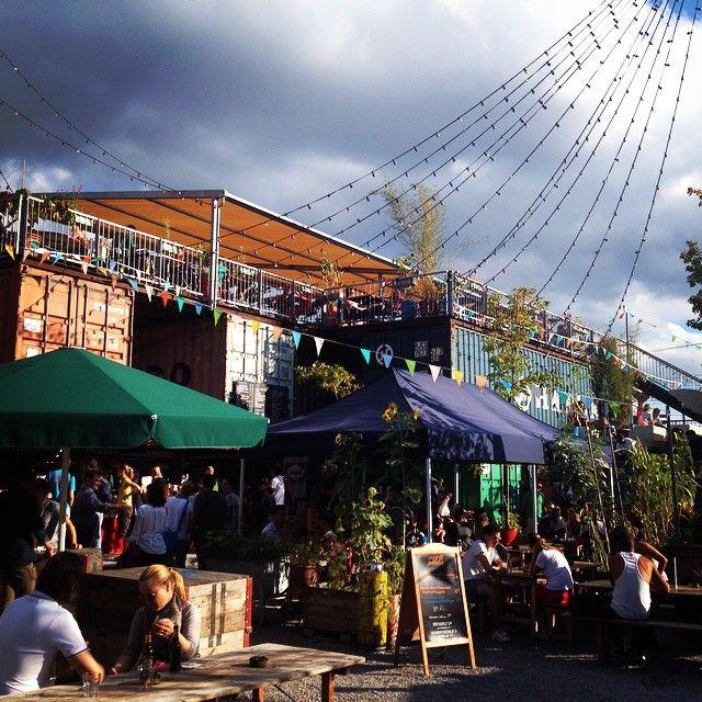 Frau Gerolds Garten Zurich Instagram Cafe Bar Places To See