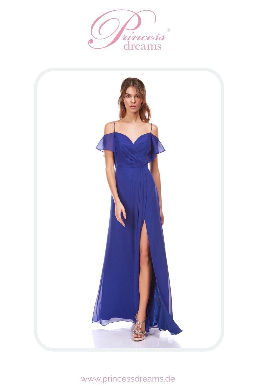 Abendkleid royalblau leicht in 15  Blaues abendkleid