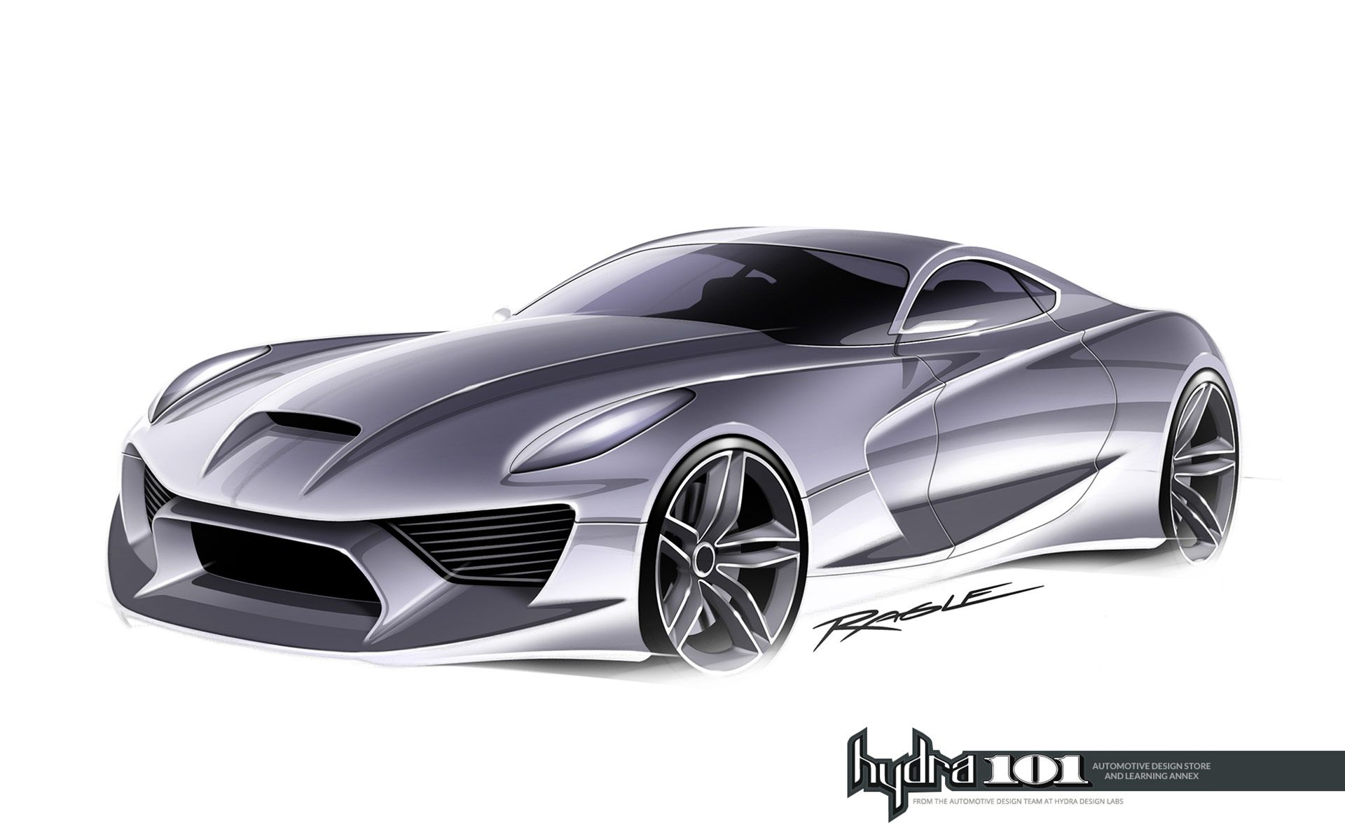 Supercar Design Sketch By Gary Ragle Supercar Design Futuristic Cars Design Automotive Design