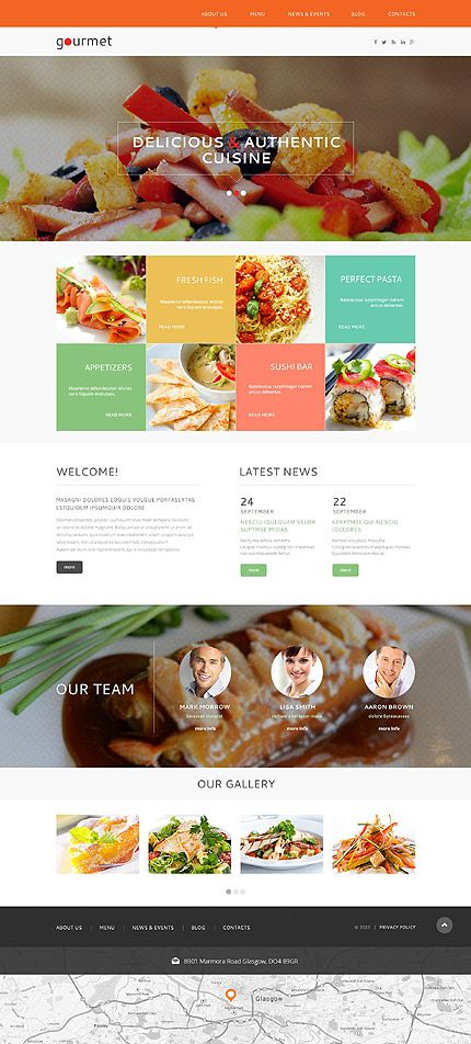 Temas para #WordPress categoria #Cafés y #Restaurantes http://micg ...