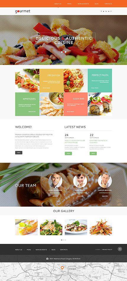 Temas para #WordPress categoria #Cafés y #Restaurantes http://micg ...