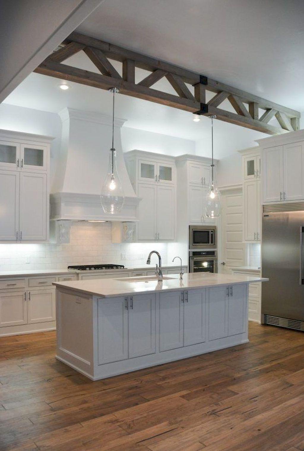 Stunning White Kitchen Cabinet Makeover Ideas 28