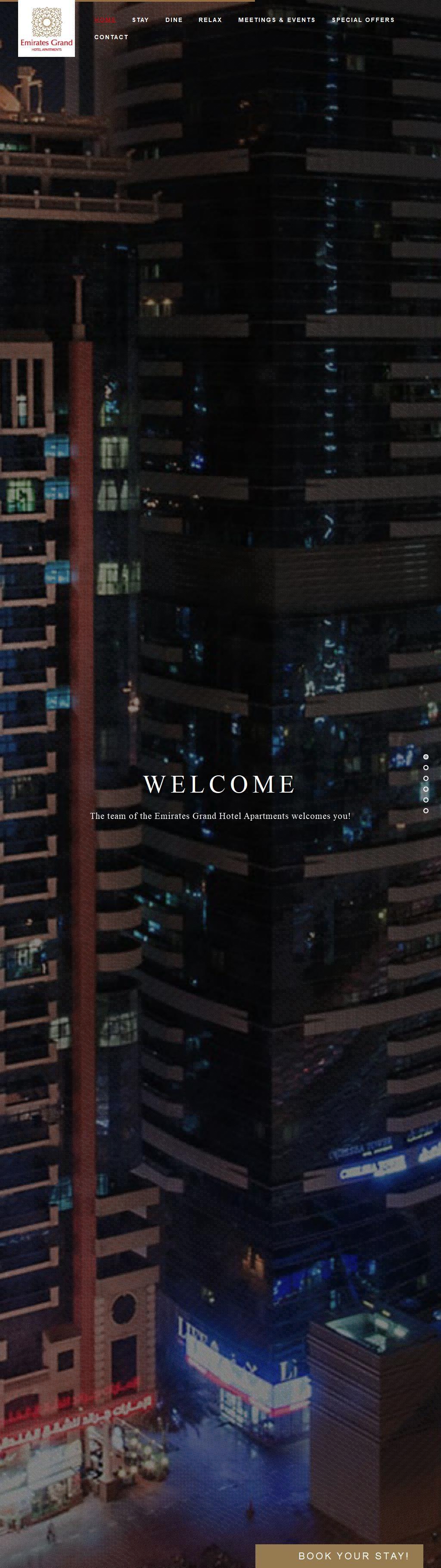 Emirates Grand Hotel Apartments Hotel Sheikh Essa