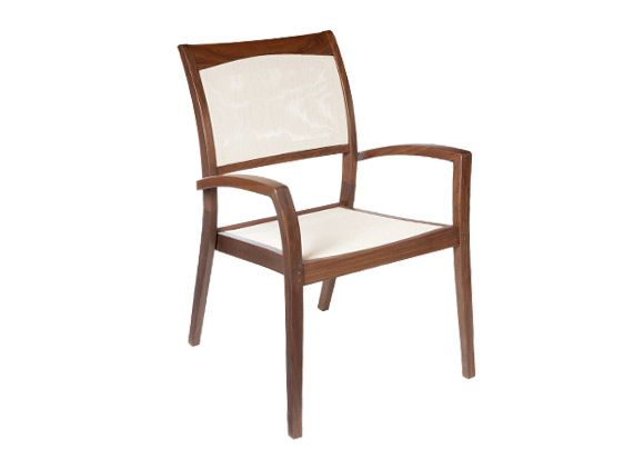 we chose two topaz stacking sling chairs from sheridan nurseries rh pinterest com