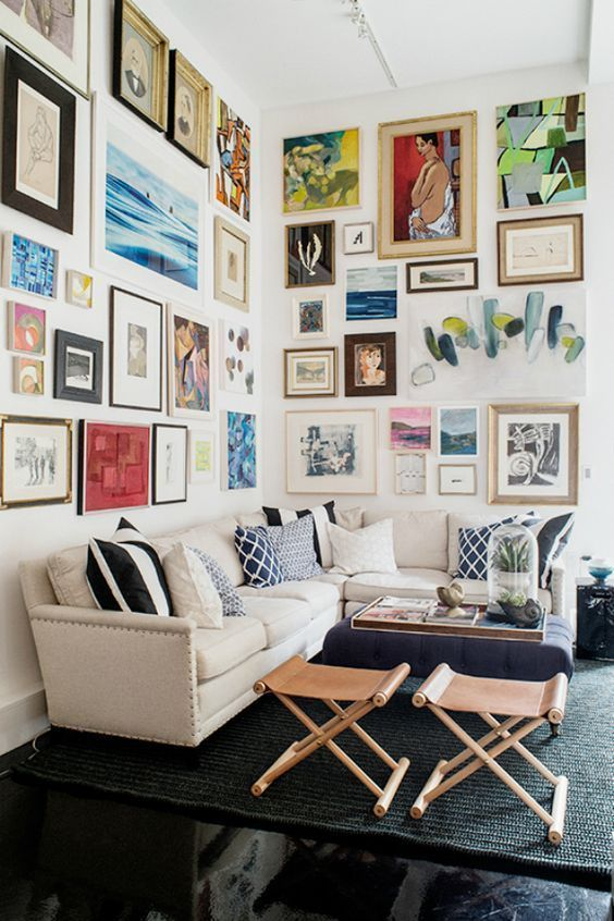 25 mind blowing design ideas for gallery walls interior spaces rh pinterest com
