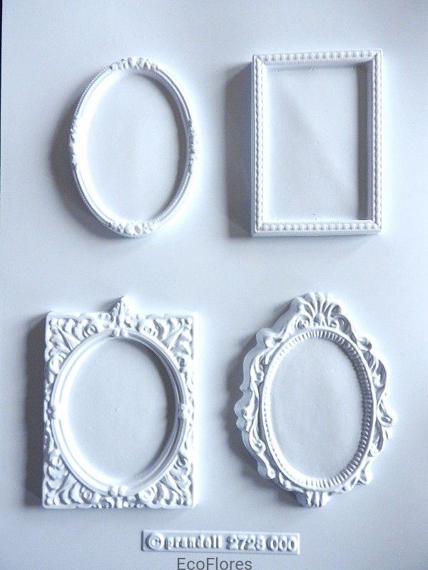 Forma Do Odlewow Gipsowych Ramki 4 Szt Na Formie Home Decor Mirror Decor
