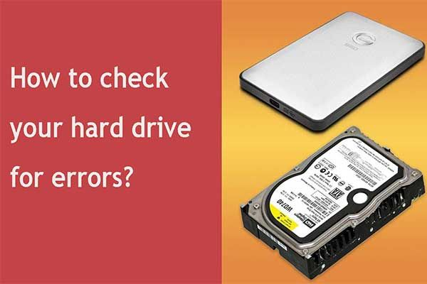 How to Check Hard Drive and Fix the Error? Solutions Are