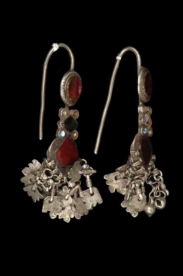 jhumki oxidized design product mart detail traditional silver rajasthani earrings jaipur antique oxidised brass plated fashionable for indian girls buy