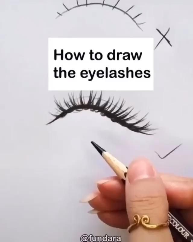 Photo of How To Draw The Eyelashes