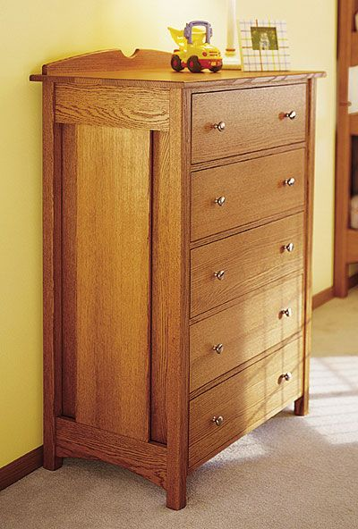 Kid S Oak Dresser Woodworking Woodworking Oak Dresser