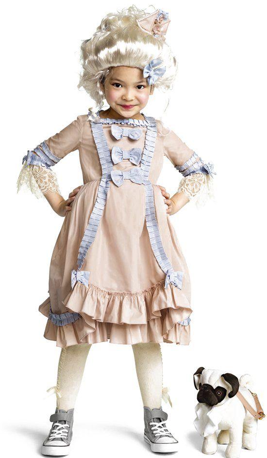 H&M Marie Antoinette Halloween costume for kids #mamp;mcostumediy