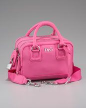 First Purse! <3    Children's Logo Handbag, Dolce & Gabbana    [BERGDORFGOODMAN.COM]