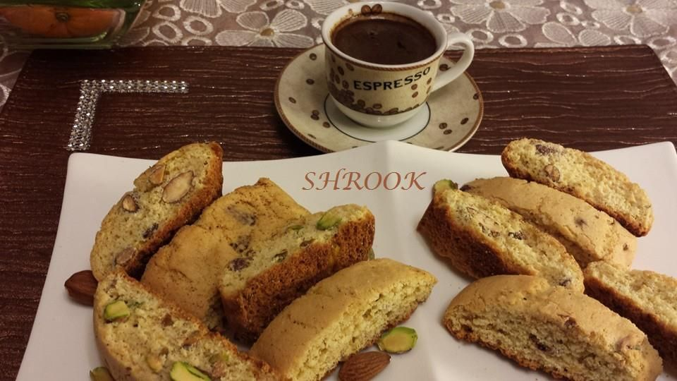 بسكاتي Recipe Food Arabic Food Arabic Sweets